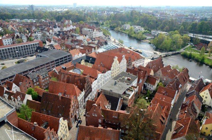 Aussicht Lübeck