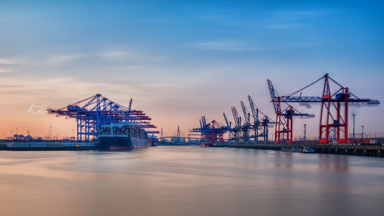 Hamburg Hafen Tankweg