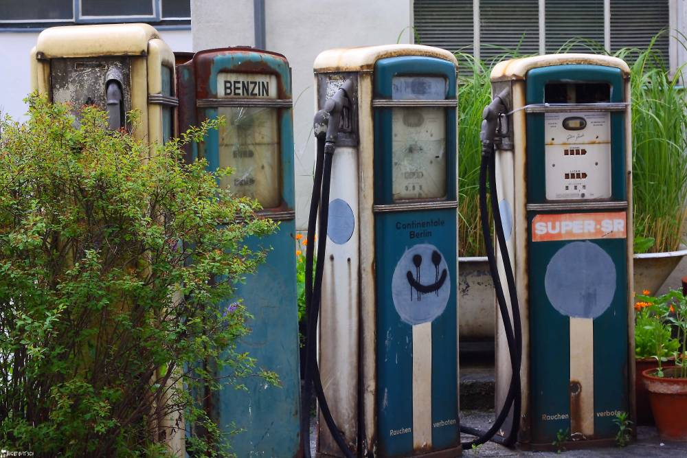 Verlassene Tankstelle Berlin