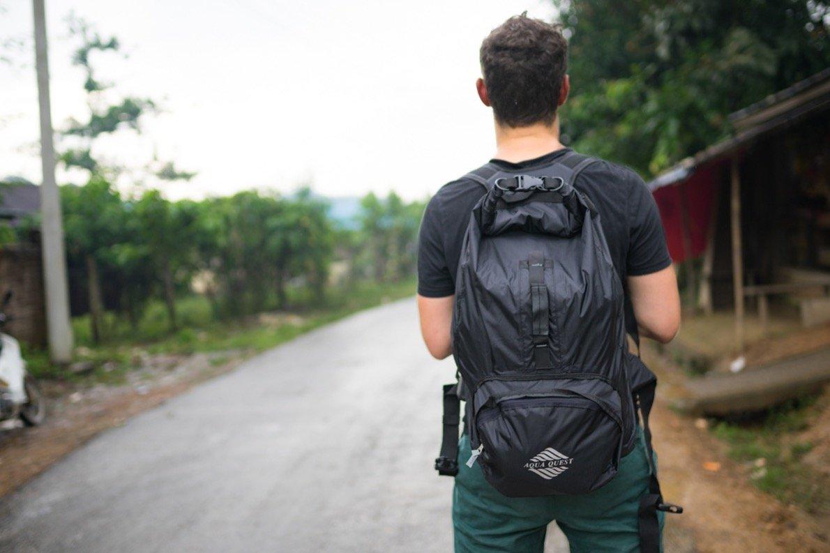 Wasserfester Rucksack für Südostasien