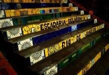 Treppe Rio de Janeiro