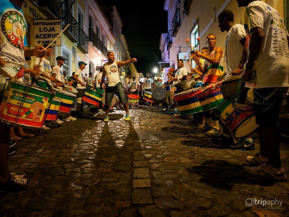 Samba im Pelourinho, Salvador de Bahia
