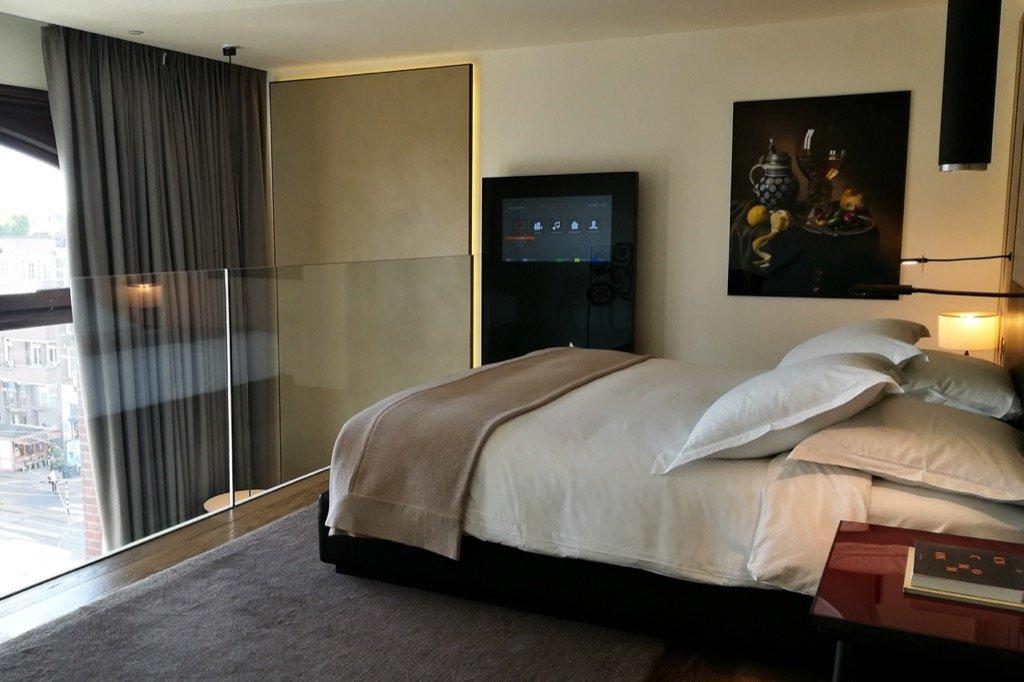 Conservatorium Hotel Zimmer