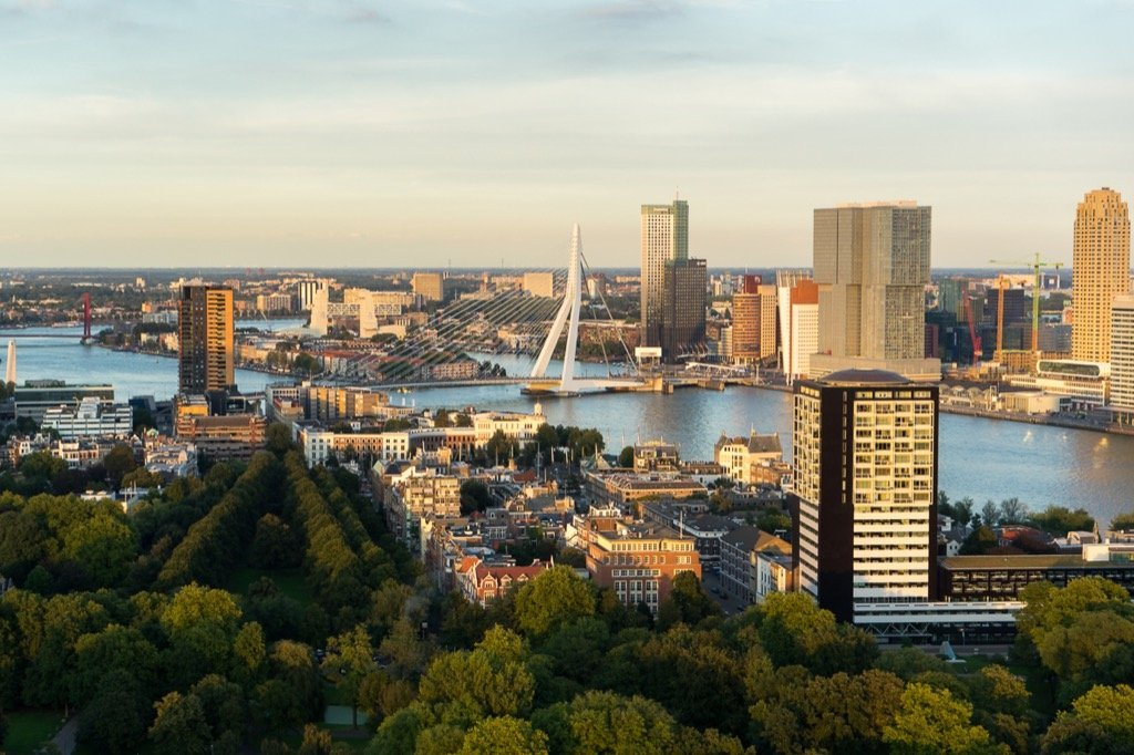 Rotterdam Aussicht