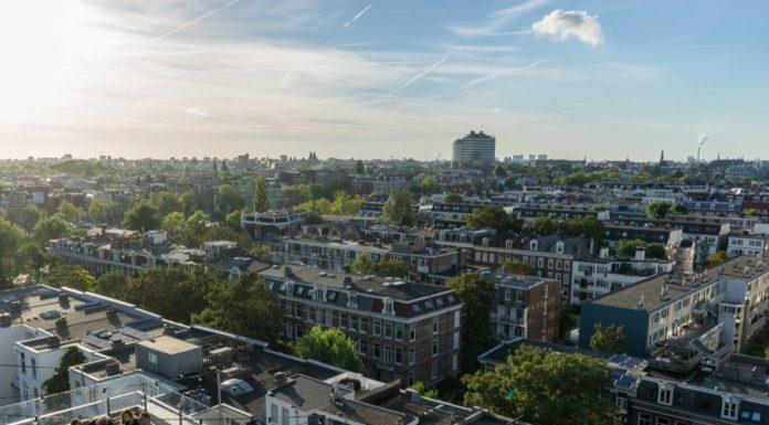 Volkshotel Amsterdam Aussicht