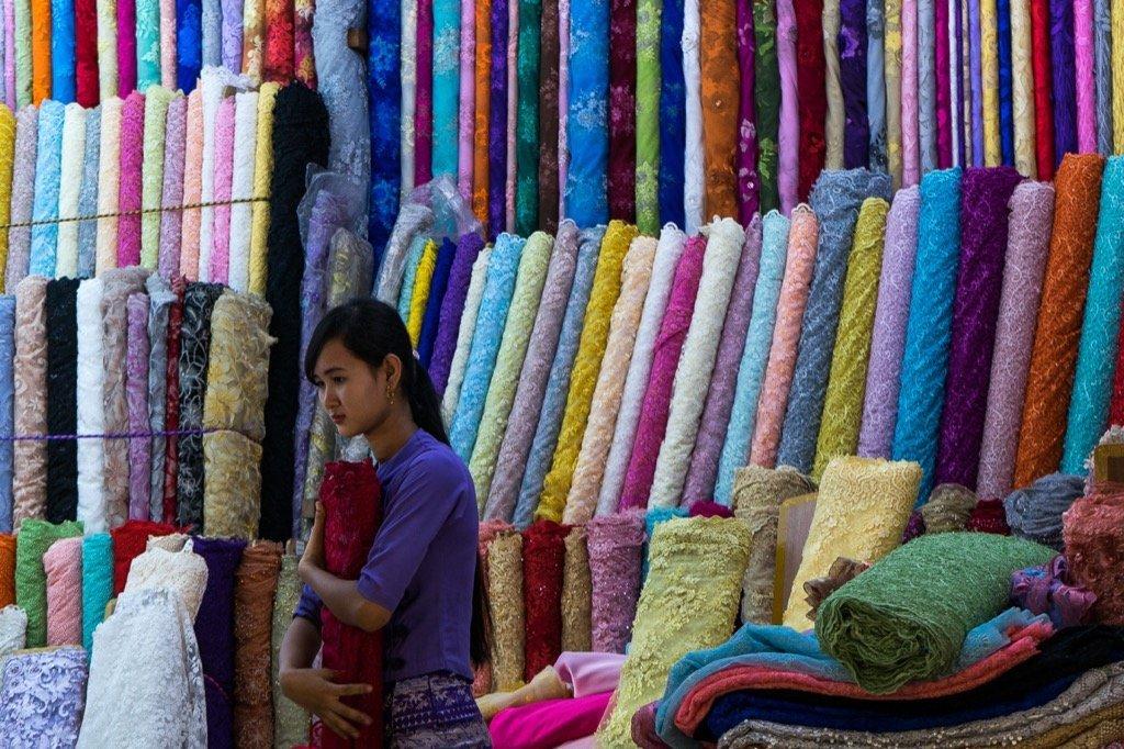 Bogyoke Aung San Markt Yangon