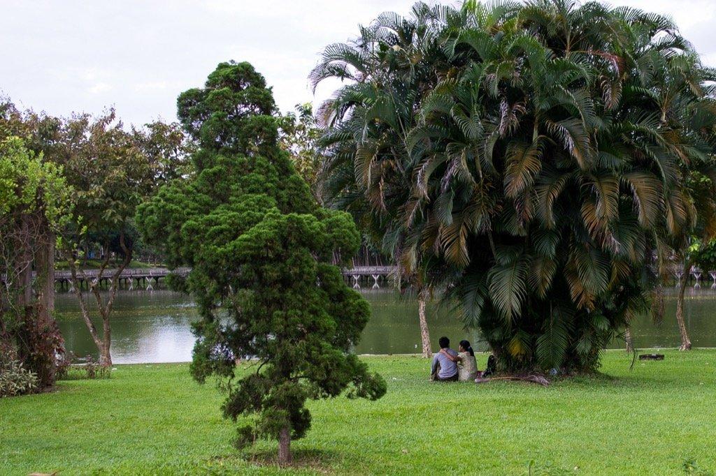 Kandwagyi Lake Yangon