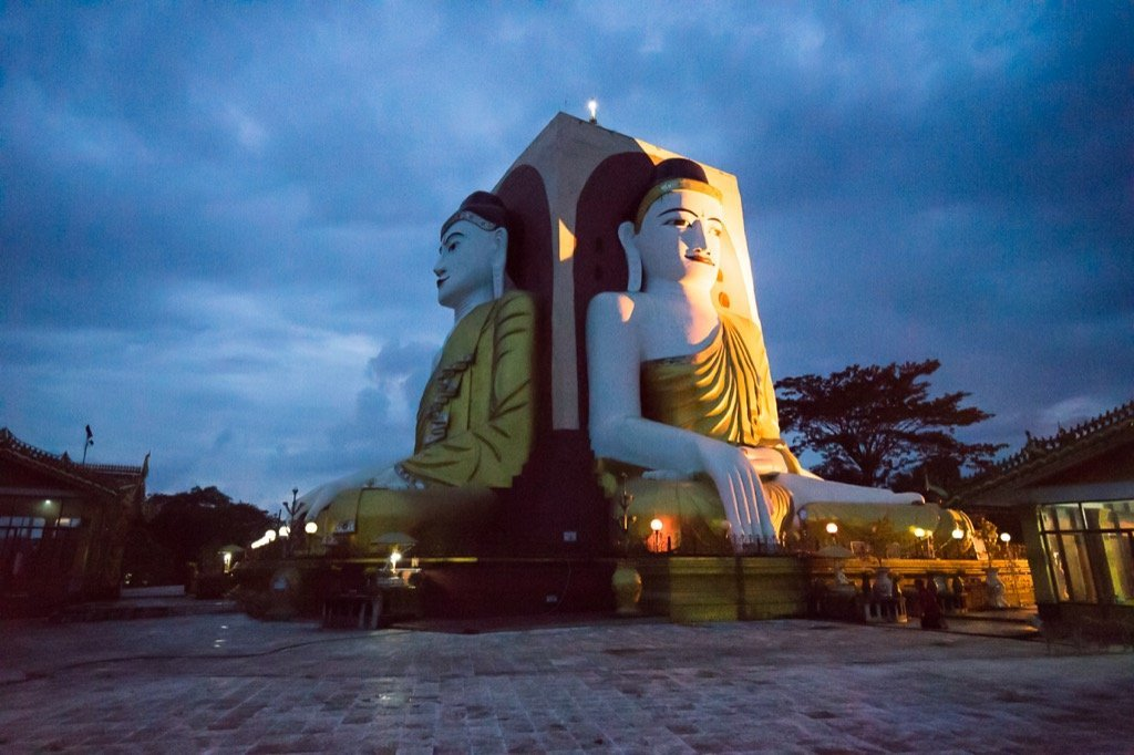 Vier Buddhas Bago