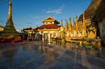 Kyaik Thanlan Pagode Mawlamyaing Myanmar