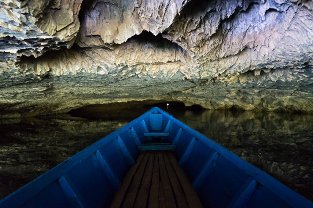 Saddan Höhle Bootsfahrt