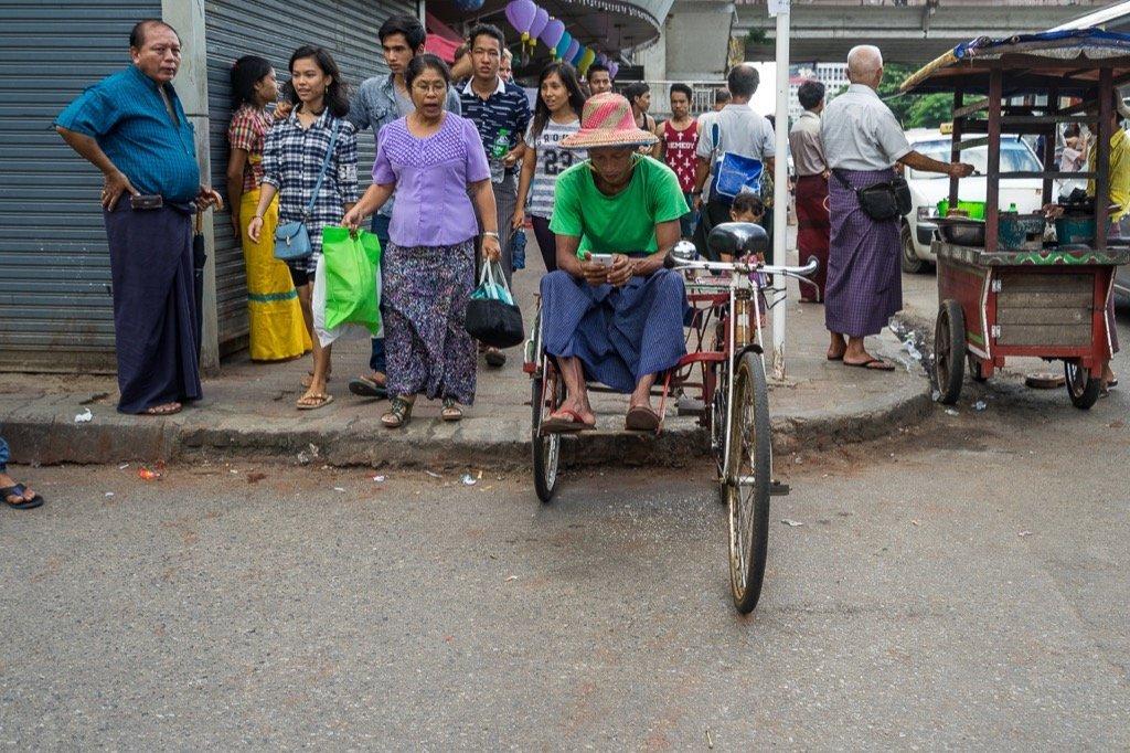 Yangon Trishaw