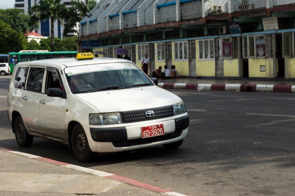 Yangon Taxi