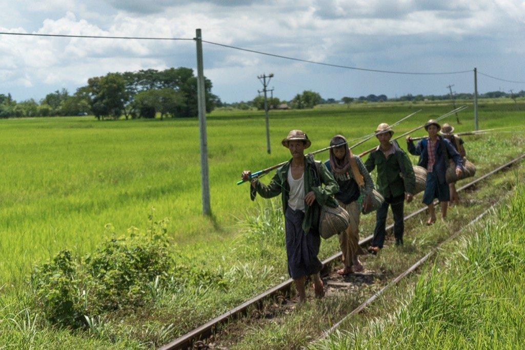 Zug Yangon Bagan