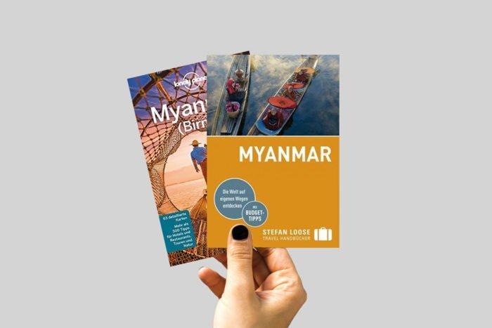 Reiseführer Myanmar & Reiseliteratur: Die besten Bücher über Myanmar