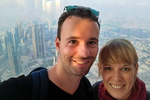 Unser Besuch im Burj Khalifa