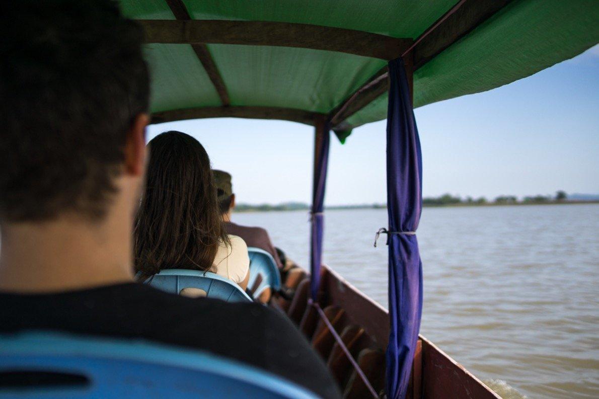 Bootstour zu den Chin Dörfern