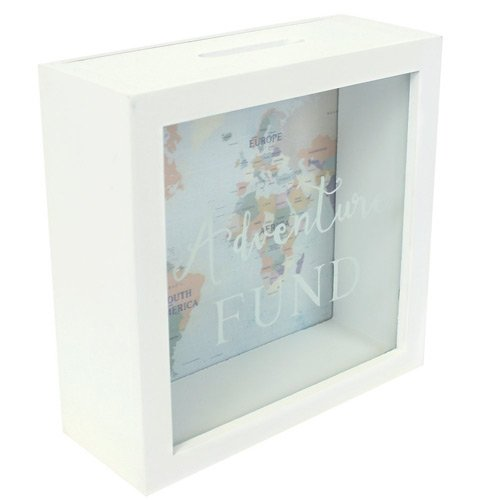 Money gift: picture frame as a money box