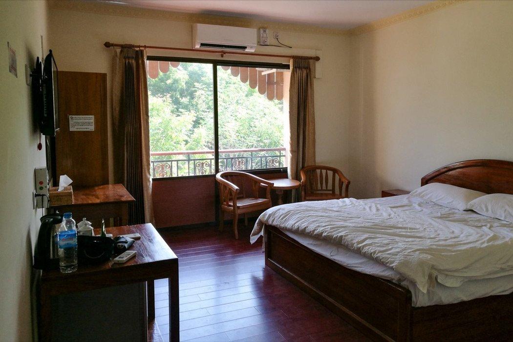 Unser Zimmer im Motel Zein