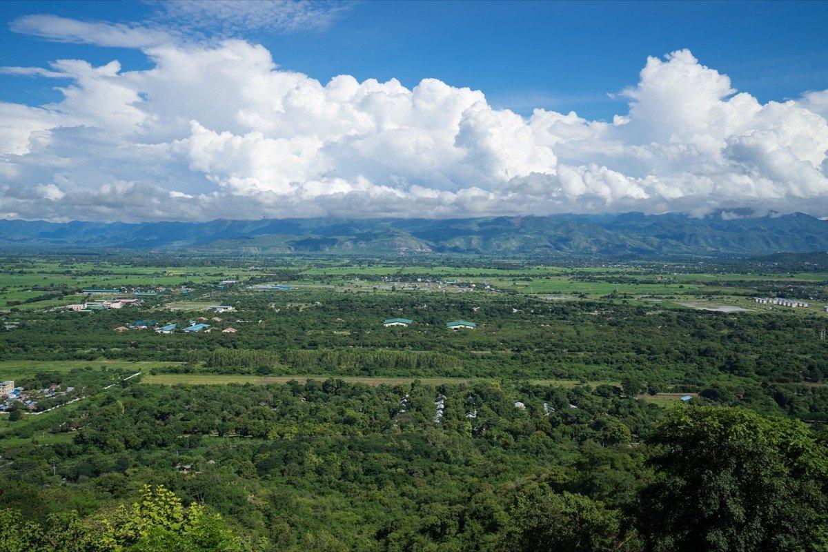 Ausblick vom Mandalay Hill