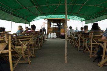 Boot nach Mingun