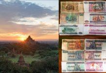 Myanmar Geld Kosten