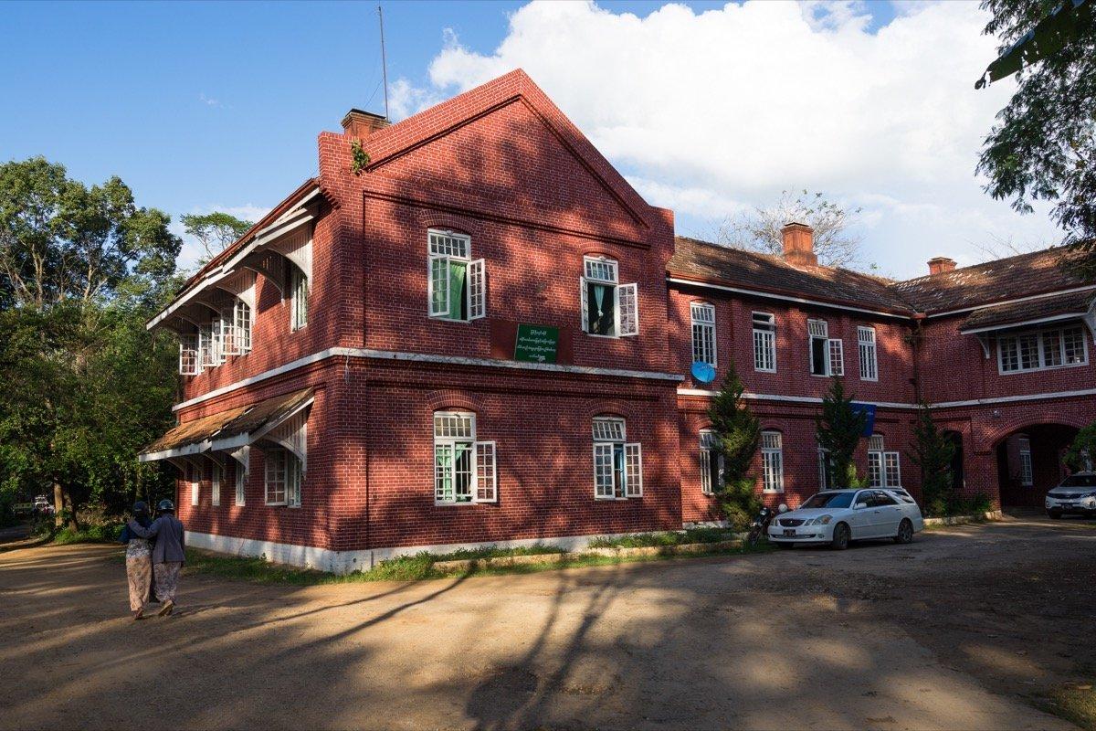 Kolonialgebäude Pyin U Lwin