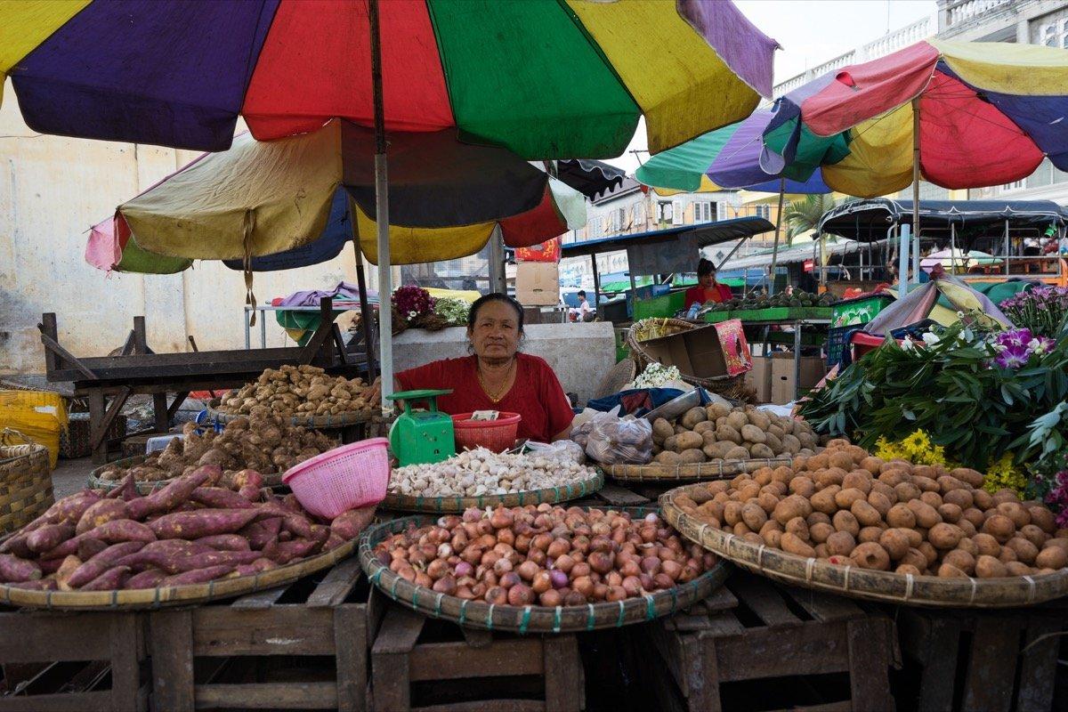 Pyin U Lwin Nachtmarkt
