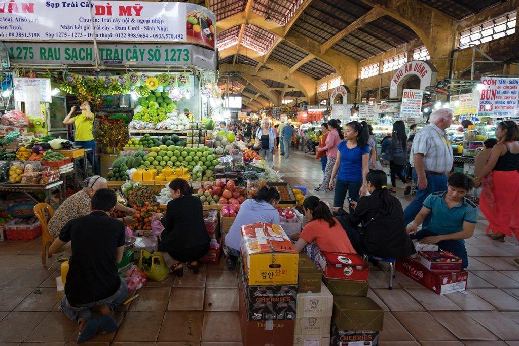 Ben Thanh Markt Saigon