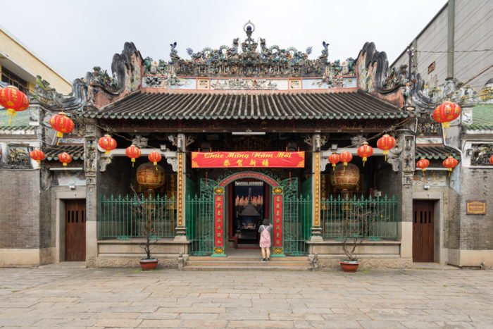 Thien Hau Tempel in Chinatown