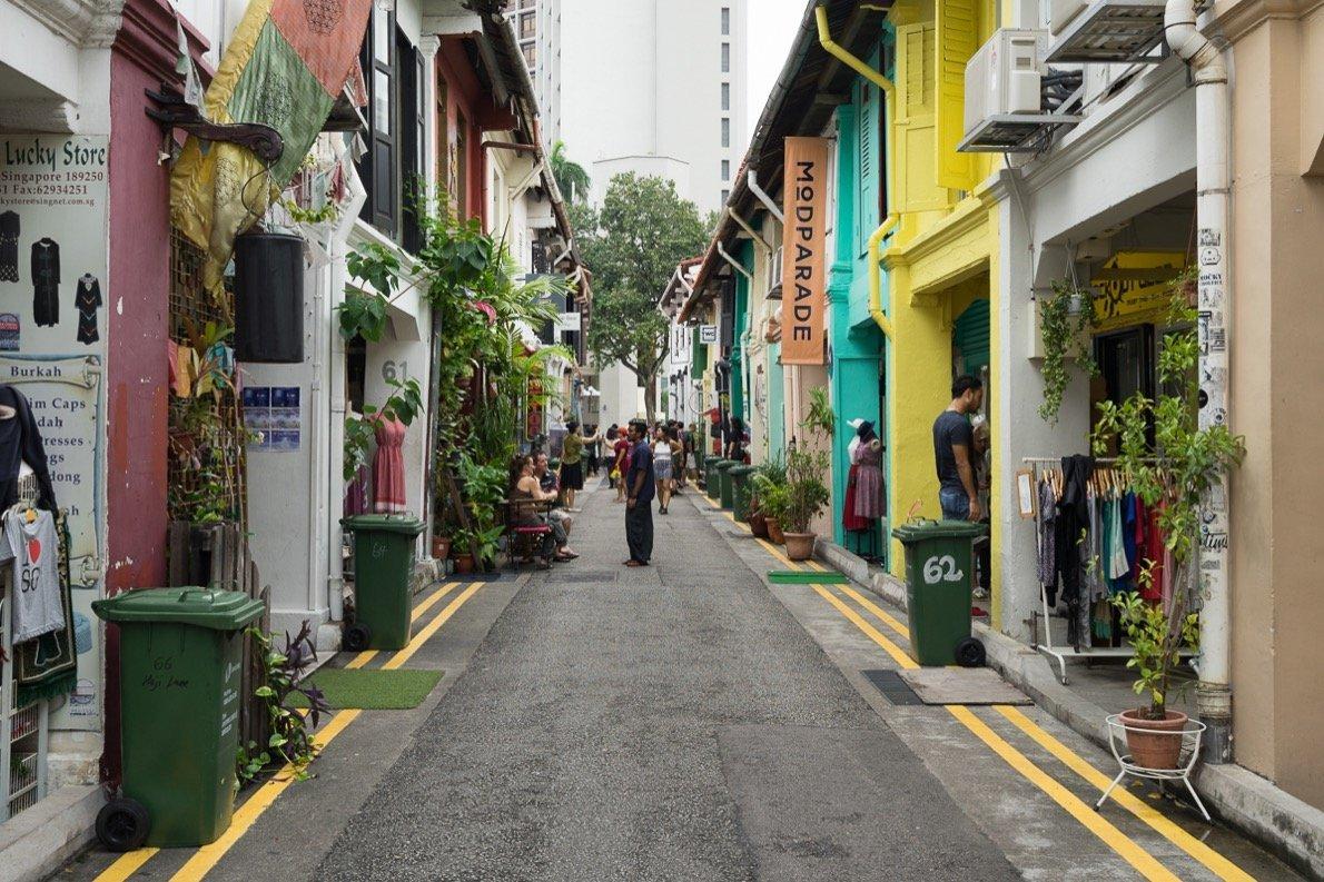 Haji Lane Singapur Tipp