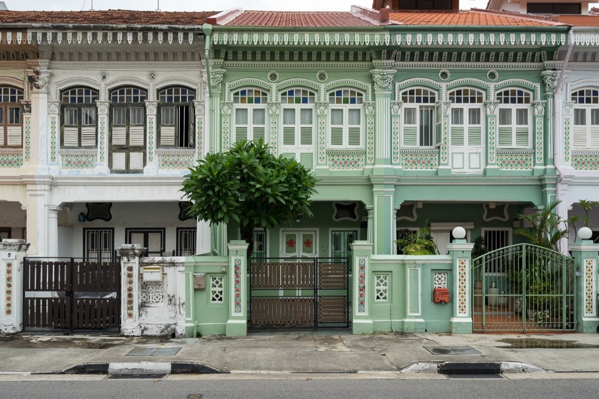 Peranakan-Häuser Singapur Insider-Tipp