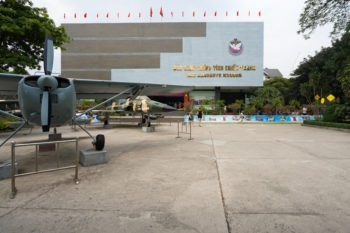 Kriegsmuseum in Saigon
