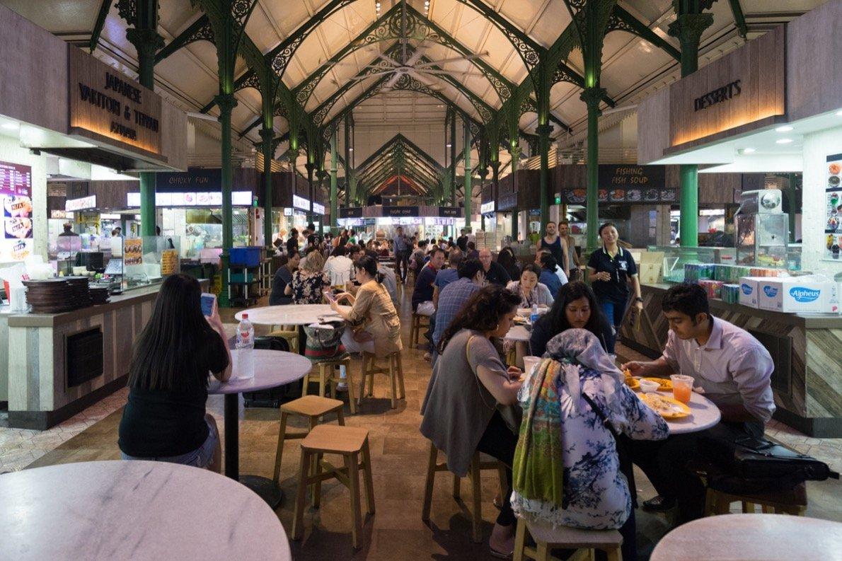 Singapur Tipp - Lau Pa Sat