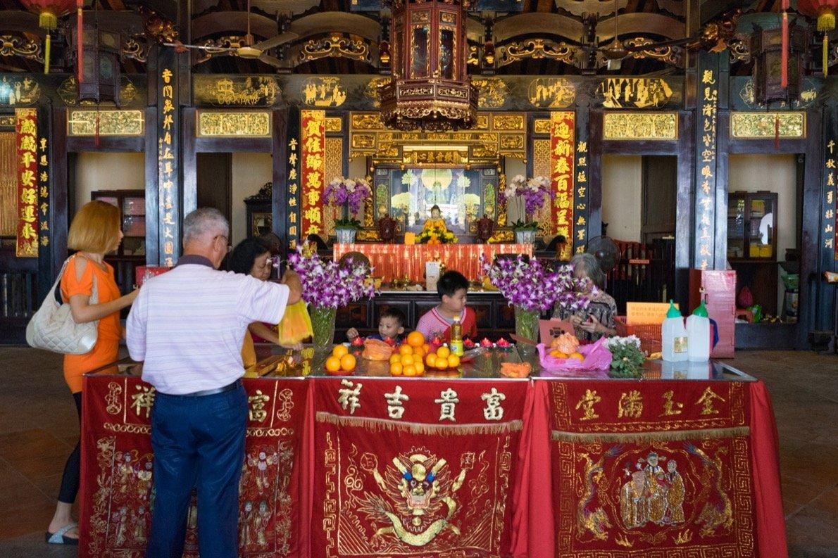 Chinesischer Tempel, Melaka