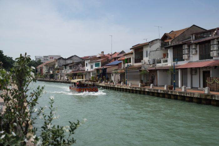 Fluß in Melaka