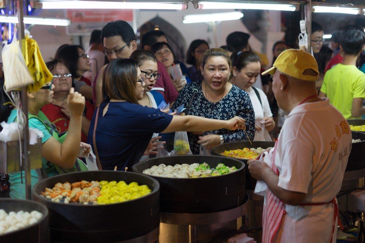 Melaka Nachtmarkt