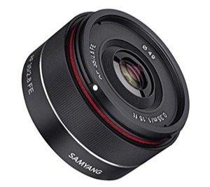 Samyang 35 mm Objektiv