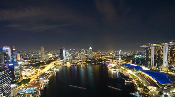 Skyline Level 33 Singapur