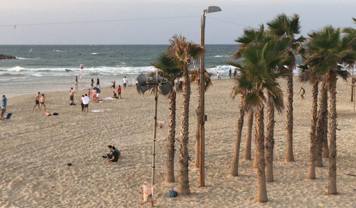 Strand von Tel Aviv