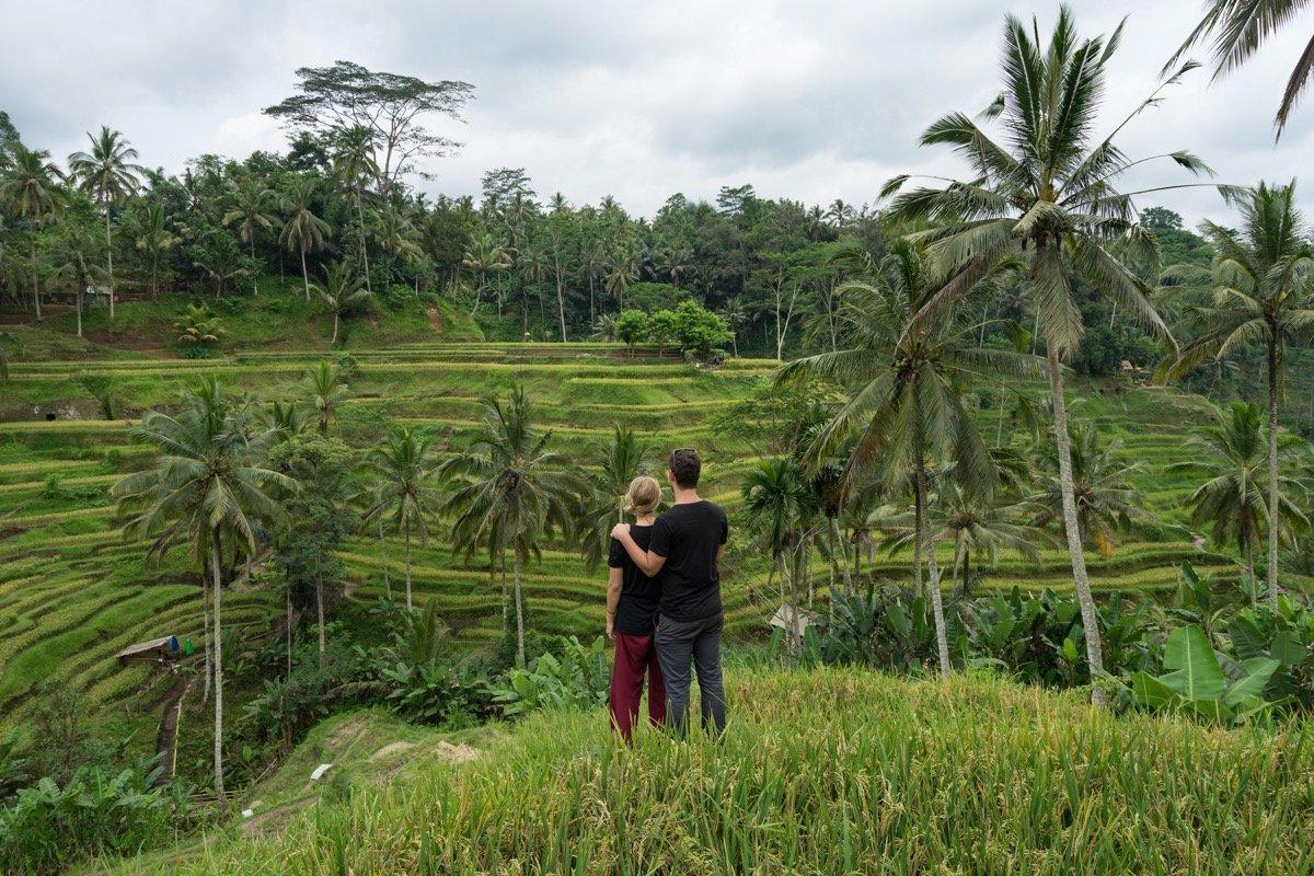 Wir auf Bali