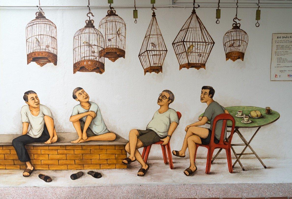 Tipp - das Viertel Tiong Bahru Singapur