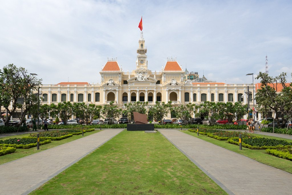 City Hall am Union Square in Saigon