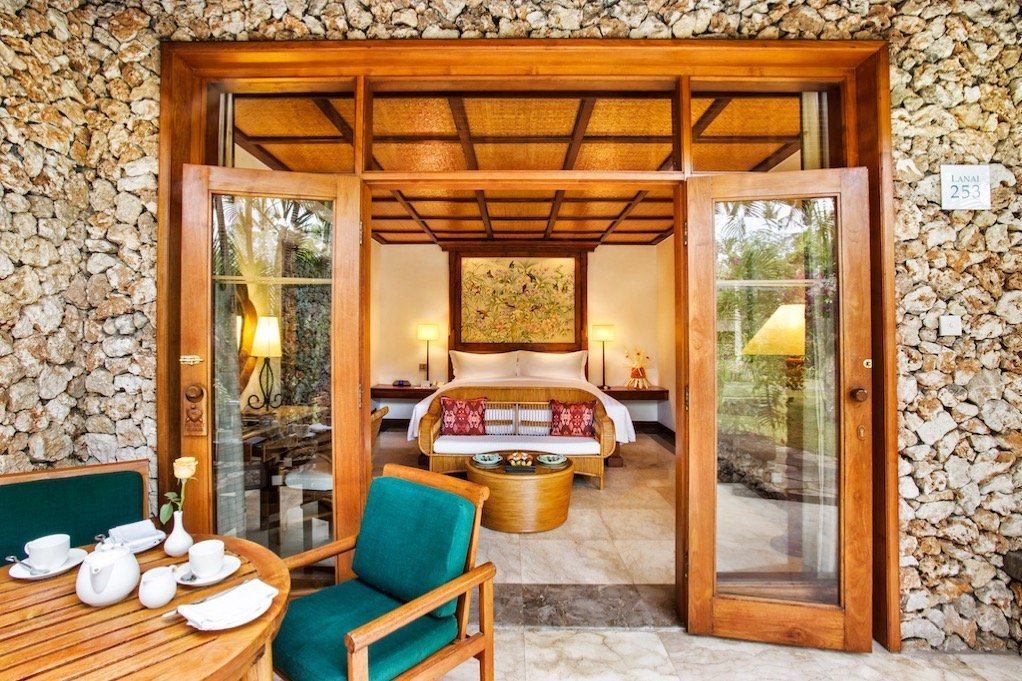 Oberoi Honeymoon-Hotel auf Bali