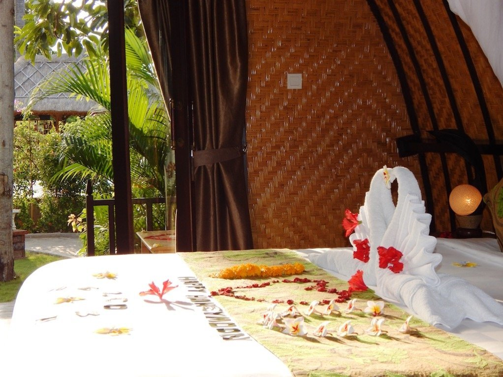 Honeymoon Suite im Kinaara Hotel auf Bali