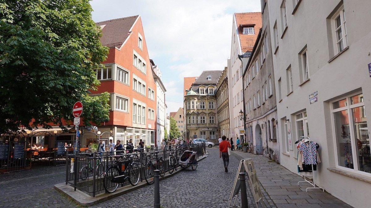 Altstadt in Augsburg