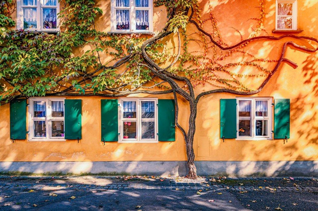 Augsburger Fuggerei Sozialsiedlung