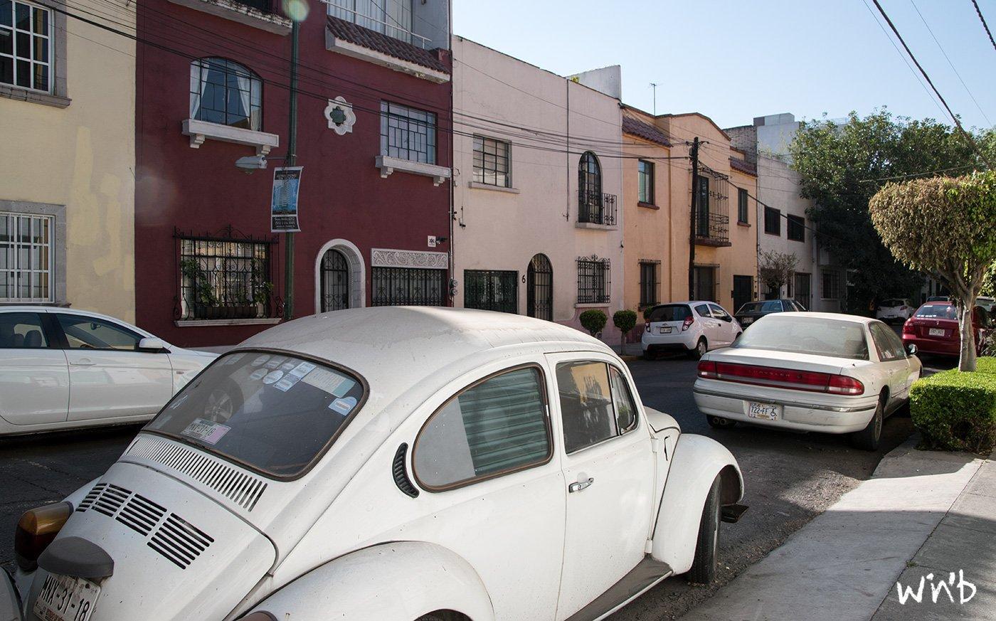 Calles in Mexiko Stadt