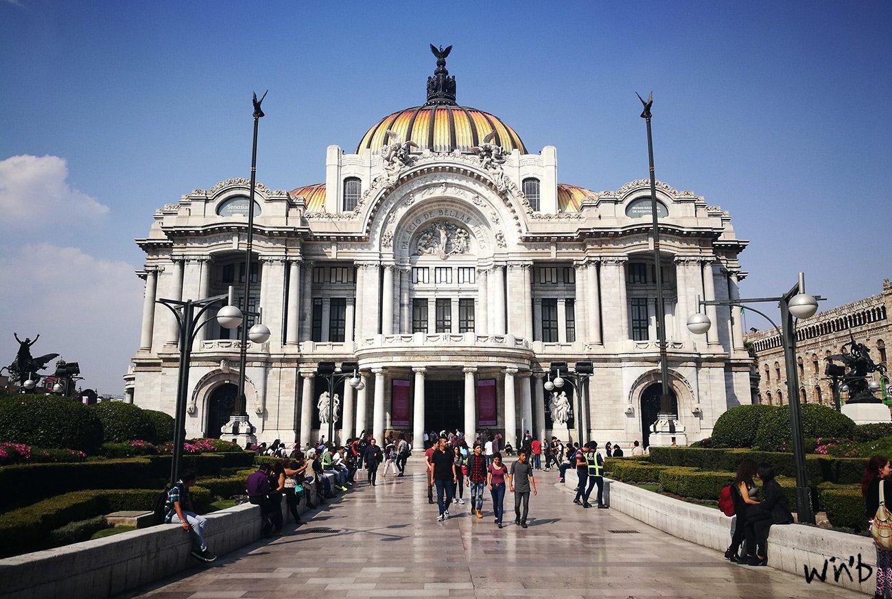Centro Histórico in Mexiko Stadt