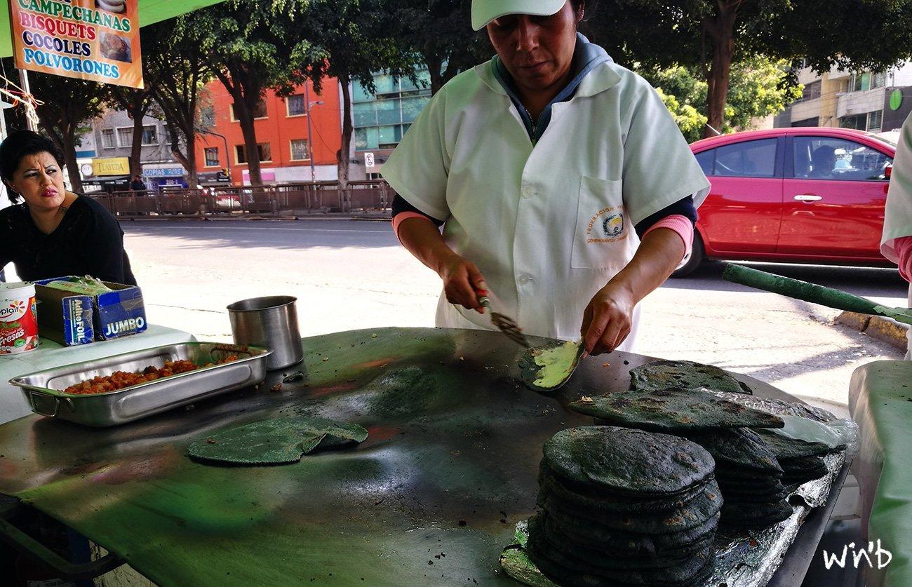 Food Market in Mexiko Stadt