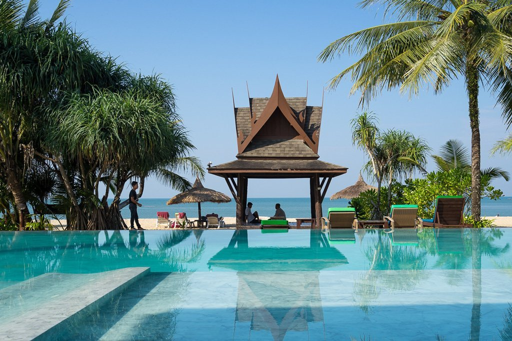 Pool auf Koh Kho Khao